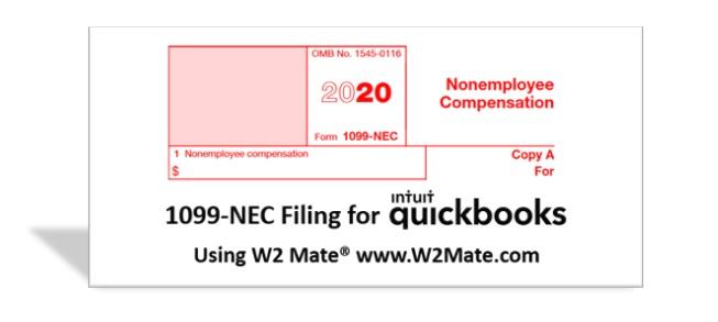 QuickBooks 1099-NEC